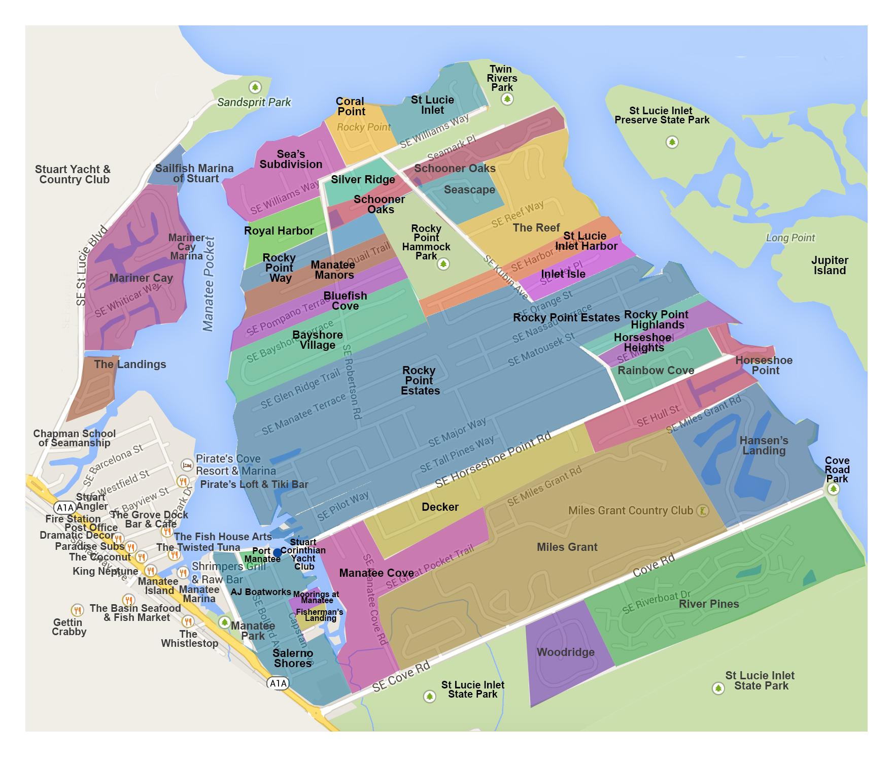 PortSalernoFL.com Map