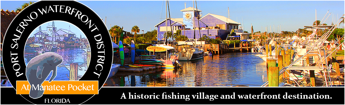 Historic Port Salerno Waterfront District at Manatee Pocket